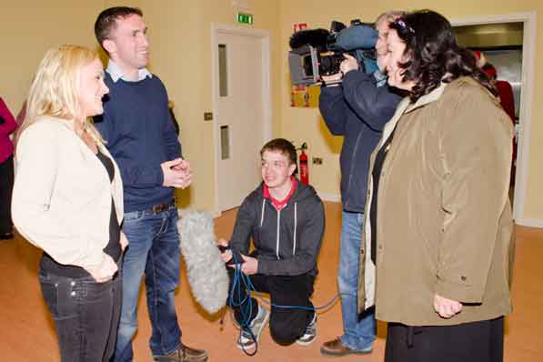 'Come Here till I Tell Ya!' Kildysart was featured on TG4 as part of Guth an Phobail